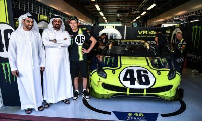 Rossi Senang Mengaspal di Balap Ketahanan Mobil