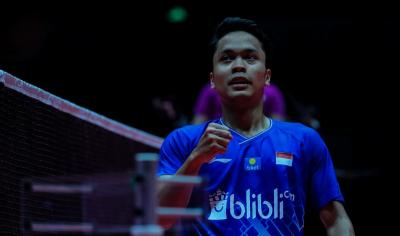 Hadapi Momota di Final, Anthony: 100% Siap!