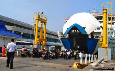 Cuaca Jadi Tantangan Pengamanan Nataru di Pelabuhan Merak