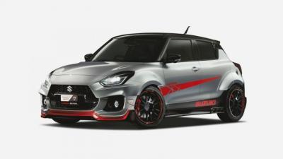 Modifikasi Swift Katana Jadi Andalan Suzuki dalam Gelaran Tokyo Auto Salon
