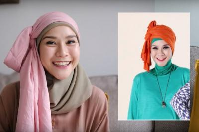 4 Tutorial Gaya Hijab Jadul ala Zaskia Mecca, Simpel dan Cantik!