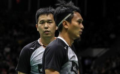 Sisihkan Fajar Rian, Ahsan Hendra Pastikan Tempat di Final Indonesia Masters 2020