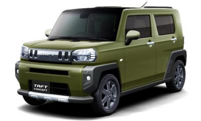 Wold Premiere Daihatsu Taft di Tokyo Auto Salon 2020