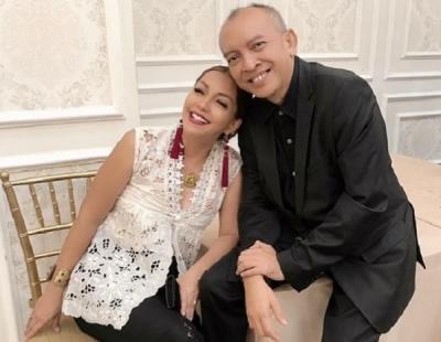 Ekki Soekarno Terbaring Sakit, Soraya Haque: Saya Ingin Menua Bersama Kamu