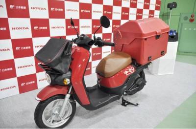 Motor Listrik Honda Benly-E Jadi Tunggangan Pak Pos di Jepang