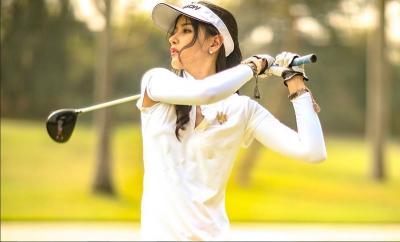Hobi Main Golf, Intip 5 Penampilan Siwi Sidi Bergaya Sporty