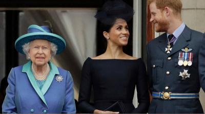 Harry dan Meghan Markle Lepas Gelar Kerajaan, Ratu Elizabeth II: Saya Bangga
