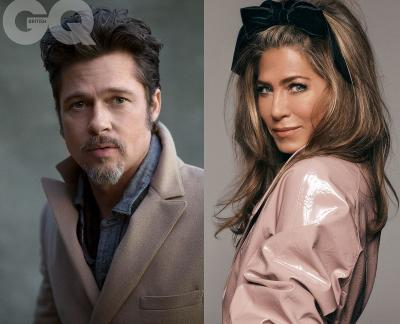 Reuni Manis Brad Pitt dan Jennifer Aniston di SAG Awards 2020