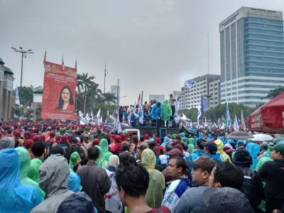 Demo di DPR, Ini Alasan Buruh Tolak Omnibus Law Cipta Lapangan Kerja