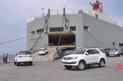 Ekspor Tembus 200 Ribu Unit, TMMIN Banyak Kirim Mobil SUV