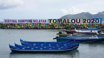 Melihat Potensi Wisata Maritim Maluku Utara lewat Festival Kampung Nelayan Tomalou