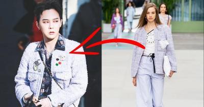 Datang ke Paris Fashion Week, GDragon Tampil dengan Busana Perempuan