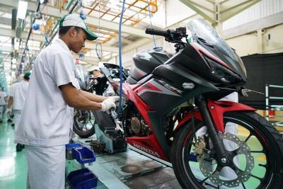 Motor CBU Honda Bikinan Indonesia Laris Manis di Pasar Ekspor