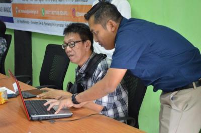 Pegiat Radio Amatir Uji Kemampuan Memanfaatkan Komputer untuk Radio
