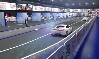 Pameran Geneva Motor Show 2020 Bikin Arena Test Drive di Dalam Ruangan