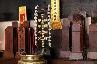 Nama Gus Dur Terukir di Altar Pecinan Semarang