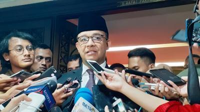 Di Rakerda Gerindra, Anies Sebut Angka Kemiskinan Warga Jakarta Menurun