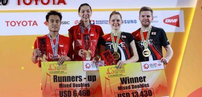 Hasil Lengkap Partai Final Thailand Masters 2020