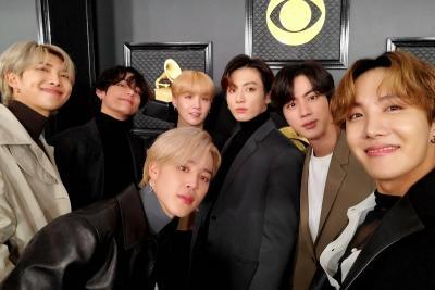 BTS Targetkan Masuk Nominasi Grammy Awards 2021