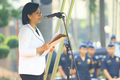 Pesan Sri Mulyani di Hari Pabean: Pahami Makna Sustainability, Security dan Inclusivity