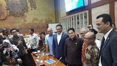 Panja DPR Panggil Erick Thohir Buka-bukaan Kasus Jiwasraya