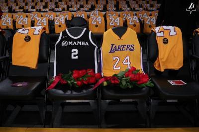 Tim NBA All-Star 2020 Bakal Gunakan Nomor Jersey Kobe Bryant dan Gianna