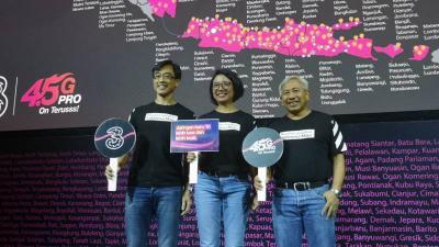 3 Indonesia Perluas Jaringan ke Beberapa Wilayah di Indonesia