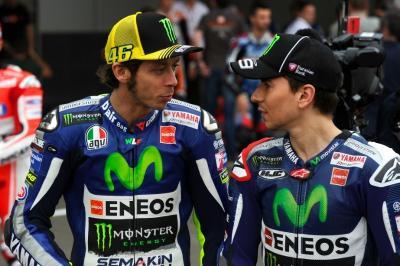 Rossi Ulang Tahun Ke-41, Lorenzo Beri Ucapan Selamat