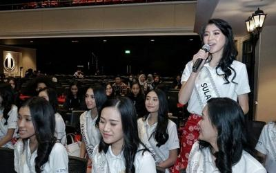 Antusiasme 34 Finalis Miss Indonesia 2020 Main ke Newsroom MNC Media
