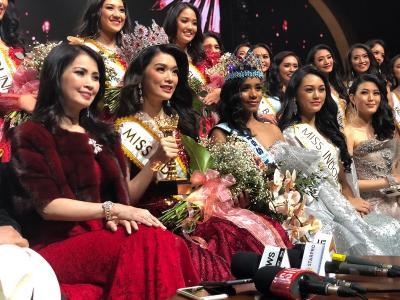Pesan Liliana Tanoesoedibjo untuk Miss Indonesia 2020 Carla Yules