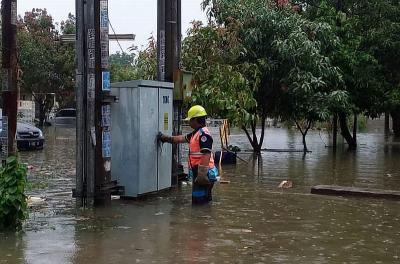 Banjir Jakarta, PLN Masih Padamkan 75 Gardu Listrik