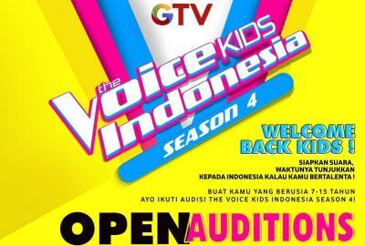 Audisi The Voice Kids Indonesia Season 4 di Batam Diserbu Peserta