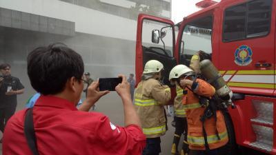 Kebakaran di Gedung Nusantara III DPR RI, 11 Unit Damkar Dikerahkan