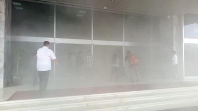 Kapolda Metro: Tidak Ada Kebakaran di Gedung DPR, tapi Sistem Aerosol Eror