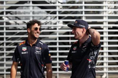 Verstappen Nikmati Kerja Sama dengan Ricciardo saat Masih Setim