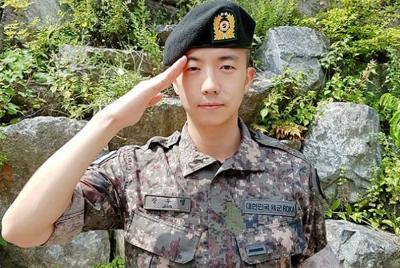 Gara-gara Virus Korona, Wooyoung 2PM Selesai Wajib Militer Lebih Awal