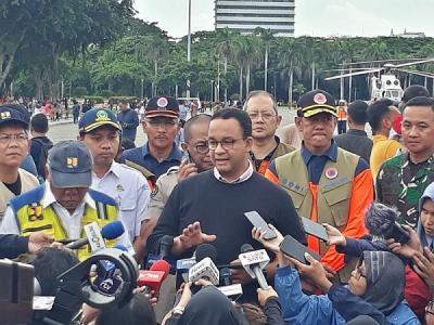 Kepala BPBD Mundur saat Banjir Landa Jakarta, Anies : Enggak Masalah