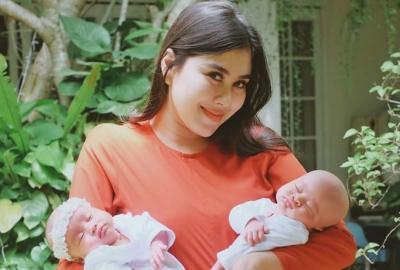 Jatuh Sakit, Bayi Kembar Jeje Govinda & Syahnaz Sadiqah Diuap Setiap Hari