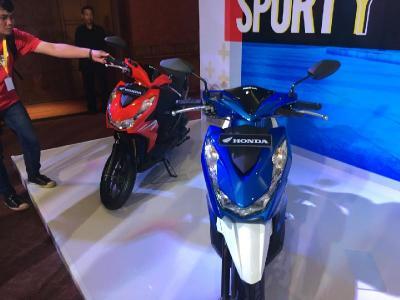 Kebutuhan Motor Meningkat, Honda Filipina Produksi Skuter Matik