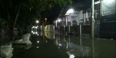 Permukiman Warga di Periuk Tangerang Banjir, Pengungsi Butuh Makanan