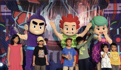 Kiko & Friends Sapa Pengunjung Jakarta Toys & Comics Fair