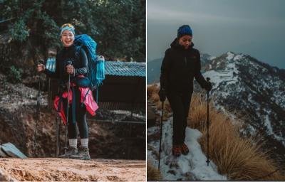 Cerita Nikita Willy saat Mendaki Gunung Himalaya