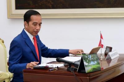Putra Mahkota Saudi Telefon Jokowi Sampaikan Belasungkawa Meninggalnya Ibunda