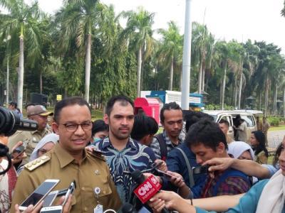 Anies Perpanjang Masa Tanggap Darurat Covid-19 di Jakarta hingga 19 April