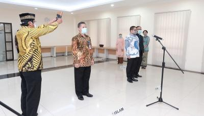 Sri Mulyani Lantik Kepala BKF dan Direktur Utama LMAN