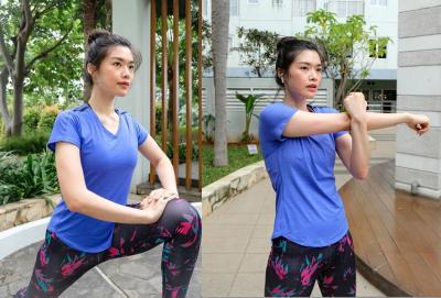 Miss Indonesia Carla Yules Ajak Masyarakat Jaga Kesehatan dengan Olahraga