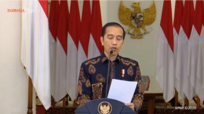 Soal JPS, Jokowi: Prioritaskan Keluarga Miskin, Pengangguran & Setengah Menganggur