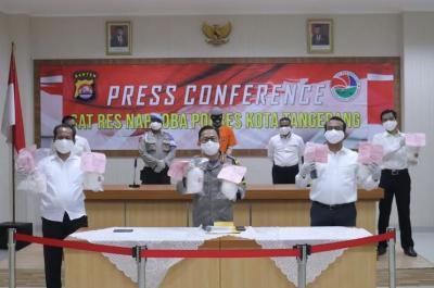 Polisi Tangkap Bandar Narkoba Lintas Provinsi, 31 Kg Sabu Sudah Diedarkan