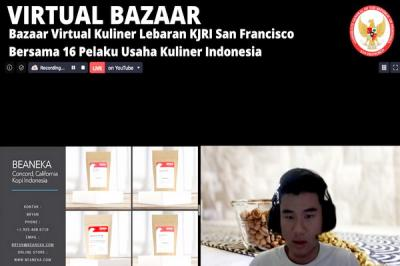 Bazaar Virtual Kuliner Indonesia Semarakkan Idul Fitri di San Francisco