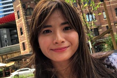 Lebaran di Sydney, Acha Septriasa Silaturrahmi Online dengan Keluarga